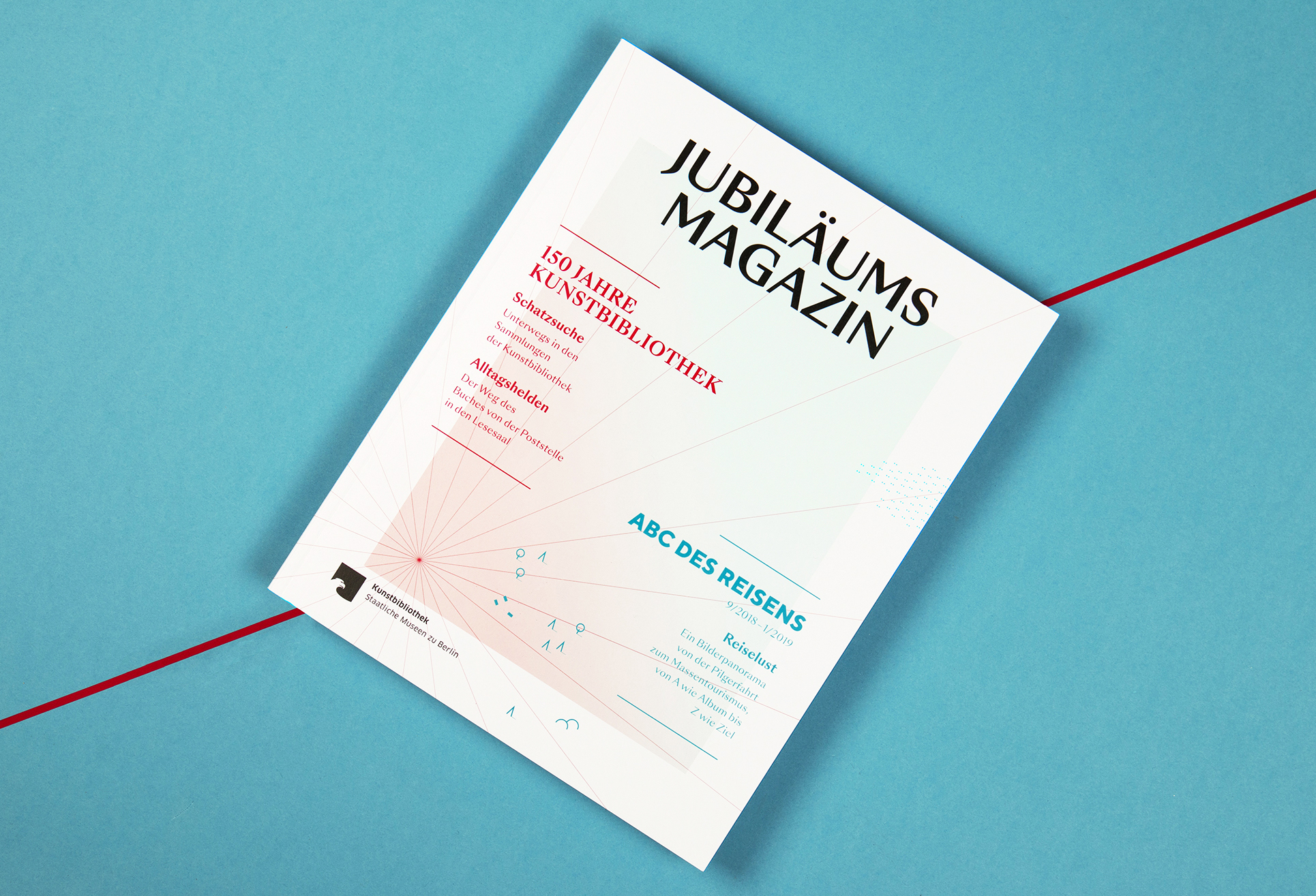 Jubiläumsmagazin »ABC des Reisens«