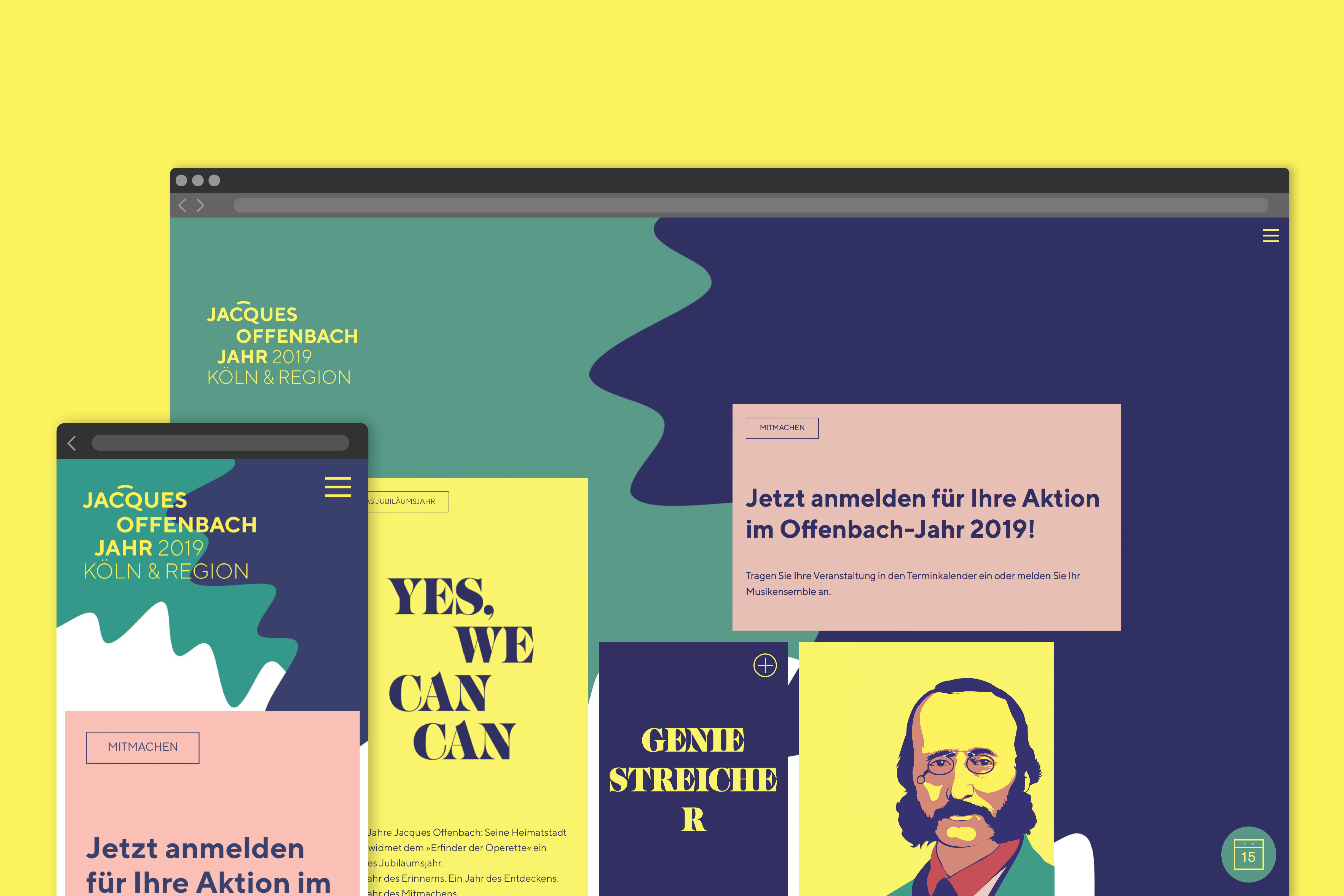 Website Jacques Offenbach Jahr 2019